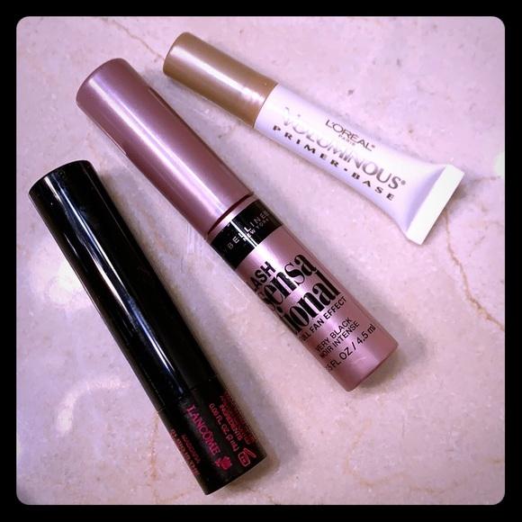 Lancome Other - Mascara bundle of Lancôme, Maybelline, L'Oréal